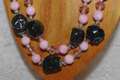 "MBAHB #18-0019  ""Pink & Black/Green"""