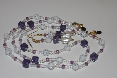 "MBAEG #0015-0078  ""Purple,White & Clear"""
