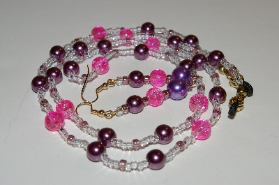 "MBAHB #0025-0069  ""Pink,Purple & Clear"""