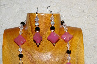 "MBAHB #0025-0076  ""Pink,Clear & Black"""
