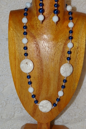 "MBAHB #2800-0069  ""White & Blue"""