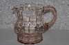 "**MBAMG #108-0079  ""Vintage Pink Glass Pitcher"""