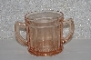 "**MBAMG #108-0135  ""Vintage Pink Glass Spoon Holder"""