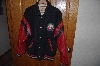 "**MBACF #589-0013  ""Red & Black Louisville Slugger Baseball Jacket"""