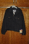 "**MBACF #598-033   ""Levi 1991 Womens 598 Black Denim Jacket"""
