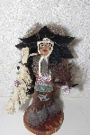 "**MBAMG #999-0138  ""Signed Child Fancy Dancer Native American Doll"""