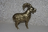 "**MBACF #999-0112  ""1980's Solid Brass Billy Goat"""