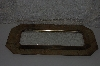 "**MBACF #999-0083  ""Older Brass Frame With Removeable Mirror"""