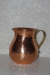 "MBAAF #0013-0035 ""Older Hammered Copper Pitcher"""