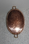 "MBAAF #0013-0026  ""Older Oval Copper Fry Pan"""