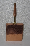 "MBAAF #0013-0040  ""Older Square Copper Grilled Cheese Pan"""