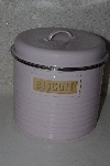 "**MBAAF #0013-0113  ""Typhoon Vintage Kitchen Pink All Purpose Canister"""