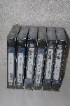 "MBACF #VHS-0082  ""Set Of 6 A&E Biography VHS Tapes"""