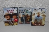 "MBACF #DVD-0115  ""Set Of 3 DVD Movies New"""