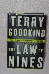 "MBACF #B-0039  ""2009 The Law Of Nines By Terry Goodkind Hardcover"""