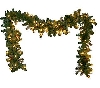 "MBA #S30-88693  ""Older Bethlehem Set Of 2 Delux Indoor/Outdoo 9Ft Garlands"""