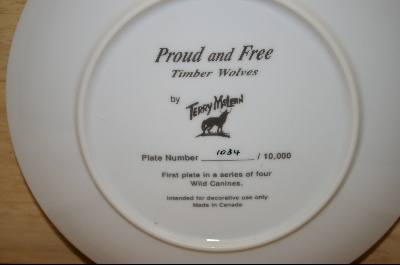 "+MBA #6-056   ""1991 ""Proud And Free"" Artist Terry Mclean"