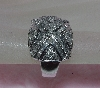 Lamps II #0207 14K White Gold Dome Style X Diamond Ring""