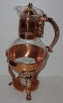 "Lamps II #0072  ""Copper Craft Copper & Brass Coffee Carafe"""