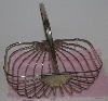 "Lamps II #0093  ""1988 Godinger Silver Plated Bread/Roll Basket"""