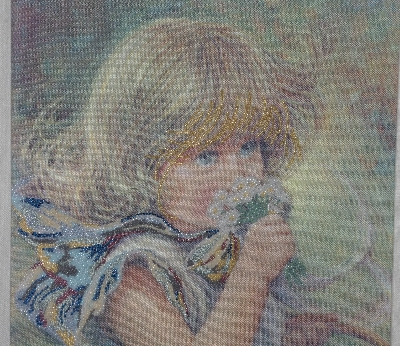 "*Lamps II #0352  ""1985 ""Susan"" Tapestry By Artist Sue Etem"""