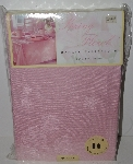 "MBA #1313-345  ""Spring Floral Pink Damask 60x144 Oblong Tablecloth"""