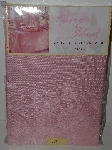 "MBA #1313-338  ""Spring Floral Pink Damask 90"" Round Tablecloth"""