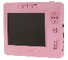 "MBA #1313-  ""Pink Portable Digital Photo Album W/ 3.4 LCD, Card Slot & Media"""