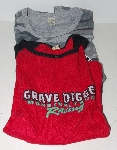 "MBA #1313-0060 ""Set Of 2 Womans Grave Digger T-Shirts"""