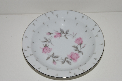 "+MBA #S18-097 ""Charmaine By Sango Pink Roses Set Of 6 Soup Bowls"""