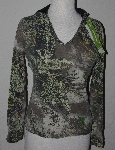 "MBA #1313-041  ""Womens Real Tree Girl Hooded Top"""