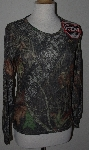 "MBA #1313-035  ""Womens Medalist Hunt Gear Mossy Oak SilverMax Top"""