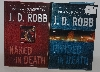 "MBA #1515-149   ""Set Of 2 J.D. Robb Death Series Hardcover Books"""