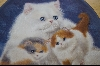 1987 Persian & Kittens By Artist Alice Hanbey