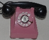 "MBA #1515-0053    ""Vintage Pink & Black Bell System Telephone"""