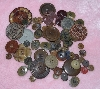 "MBA #1616-089  ""Vintage Lot Of 76 Buttons"""