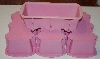 "MBA #1818- 0289    ""Set Of 4 Pink Silicone Loaf Pans"""