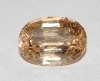 "MBA #1818-0136  ""6.6 CT Oval Cut Imperial Topaz"""