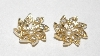 "MBA #1818-0062  ""14K Yellow Gold & Diamond Earring Jackets"""