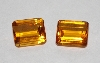 "MBA #1212-0173  ""Set Of 2 Square Cut 12x10 Cintrine Stones"""