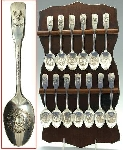 "MBA #1919-P000  ""1976 International Silver Co Original Thirtten Colonies Spoon Collection"""