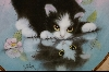 "**MBA #7-144   ""1990 ""Rainy Day Friends"" By Artist Bob Harrison"