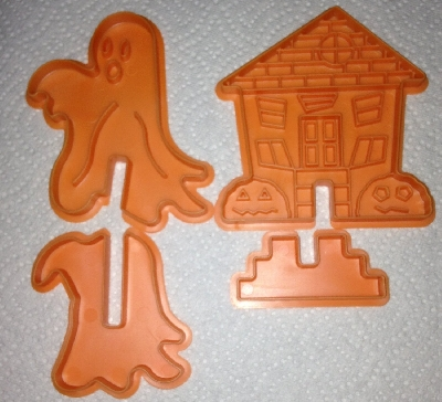 "+MBA #1515-0001  ""Nordic Ware 3D Stand Up Halloween Cookie Cutter Set"""
