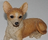 "MBA #2020-0047  ""Hand Carved Resin Chihuahua"""