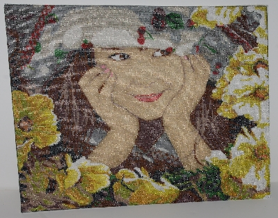 "MBA #2020-0034  ""Royal Paris Hand Beaded Tapestry"""