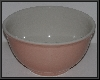 "MBA #2323-0001  ""Large Pink ""Tag"" Mixing Bowl"""
