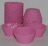 "MBA #2323- 0011  ""Technique Set Of 24 Pink Silicone Standard Size Muffin/Cupcake Cups"""