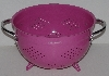 "MBA #2323-0079  ""Typhoon Pink Oversized Kitchen Colander"""