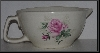 "MBA #2323-0111  ""Pink Rose Ceramic Batter Bowl"""