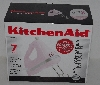 "MBA #2424-0042  "" 2005 KitchenAid Pink Artisan Series 7 Speed Hand Mixer"""